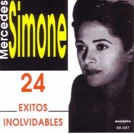MERCEDES SIMONE CD 24 Exitos Inolvidables