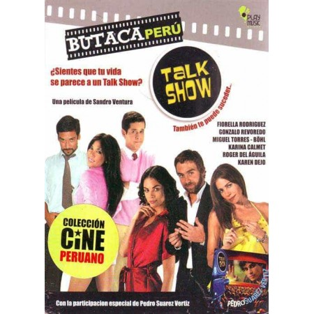 BUTACA PERU DVD Film Talk Show