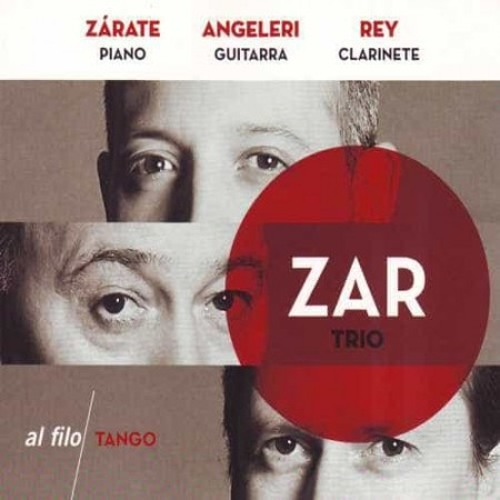 TRIO ZAR ZARATE & ANGELERI & REY CD Al Filo Tango
