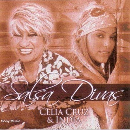 CELIA CRUZ & INDIA CD Salsa Divas