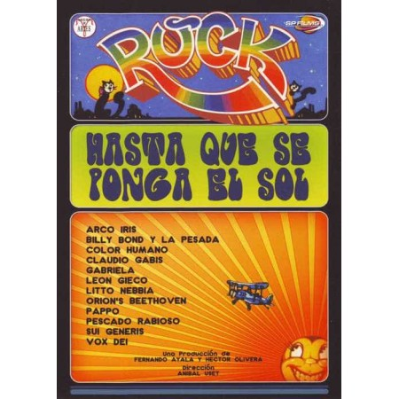 ROCK HASTA QUE SE PONGA EL SOL DVD Rock Hasta Que Se Ponga El So