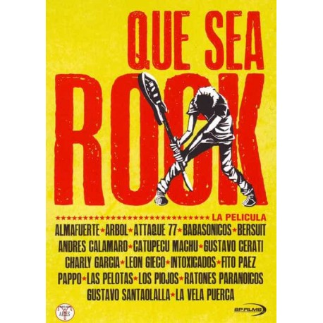 ROCK QUE SEA DVD La Pelicula Rock Que Sea Rock