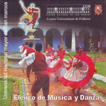 ELENCO DE MUSICA Y DANZAS CD+DVD Universidad Mayor De San Marcos