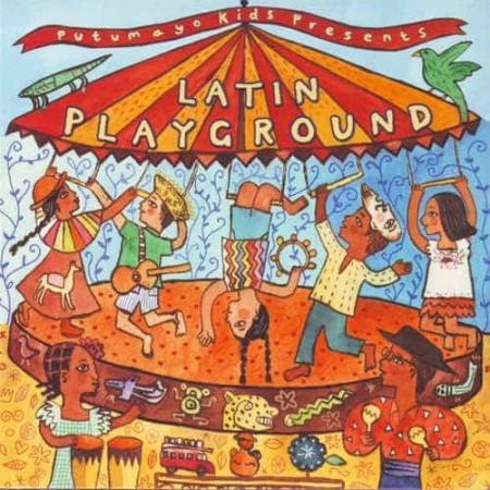 PUTUMAYO PRESENTS LATIN PLAYGROUND NEW VERSION CD Latin Music Fo