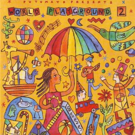 PUTUMAYO PRESENTS WORLD PLAYGROUND 2 CD For Children And Familie