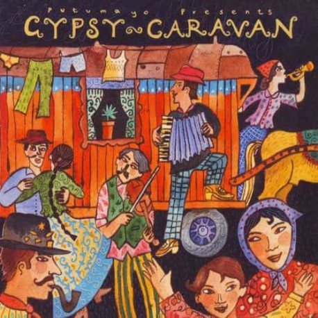 PUTUMAYO PRESENTS GYPSY CARAVAN CD Virtuosity And Passion