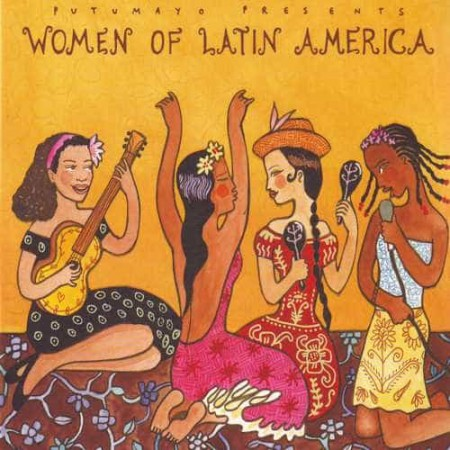 PUTUMAYO PRESENTS WOMEN OF LATIN AMERICA CD Greatest Female Arti