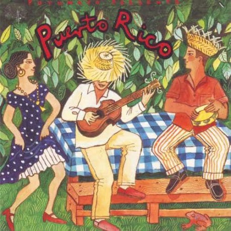 PUTUMAYO PRESENTS PUERTO RICO CD Salsa Plena Bomba From The Isla