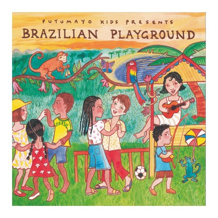 BRAZILIAN PLAYGROUND CD Putumayo Presents