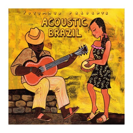 ACOUSTIC BRAZIL CD Putumayo Presents