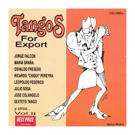 TANGOS FOR EXPORT CD Vol 2