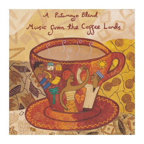 MUSIC FROM THE COFFE LANDS CD Putumayo Presents