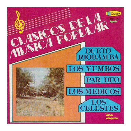 CLASICOS DE LA MUSICA POPULAR CD Vol 1