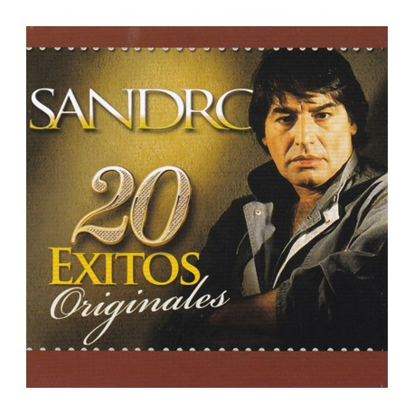 SANDRO CD 20 Exitos Originales