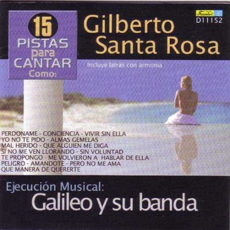 GILBERTO SANTA ROSA CD Best Of - Karaoke