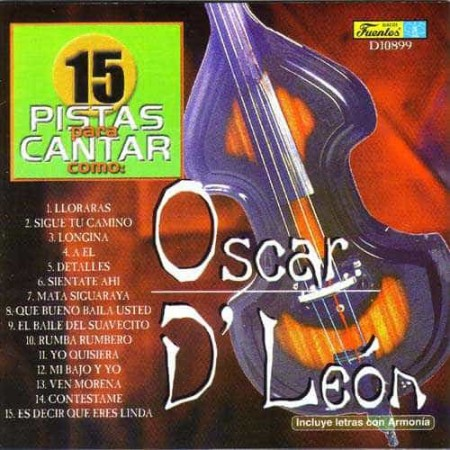 OSCAR DLEON CD Karaoke - Salsa