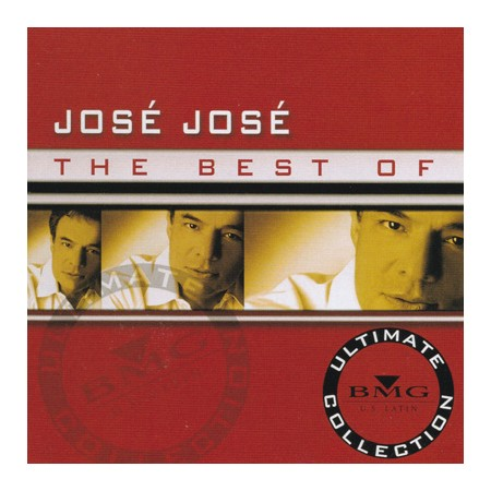 JOSE JOSE CD The Best Of