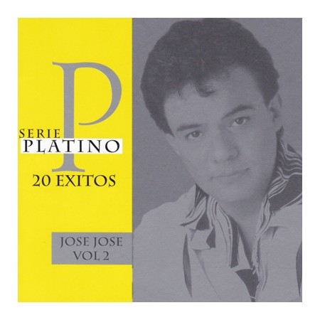 JOSE JOSE CD Serie Platino 20 Exitos Vol 2