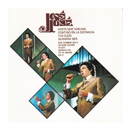 JOSE JOSE CD Hasta Que Vuelvas