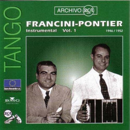 FRANCINI PONTIER CD Archivo Rca 1946 - 1952 Inst Vol 1
