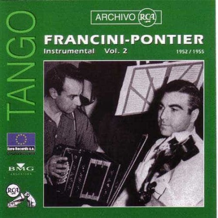 FRANCINI PONTIER CD Archivo Rca 1952 - 1955 Instrumental Vol