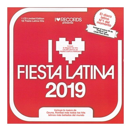 FIESTA LATINA CD I Love Fiesta Latina