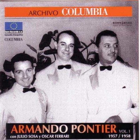 ARMANDO PONTIER CD Archivo Columbia 1957 - 1958 Vol 1