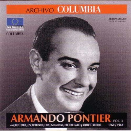 ARMANDO PONTIER CD Archivo Columbia 1960 - 1962 Vol 3