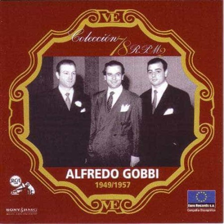ALFREDO GOBBI CD Coleccion 78 RPM 1949 - 1957