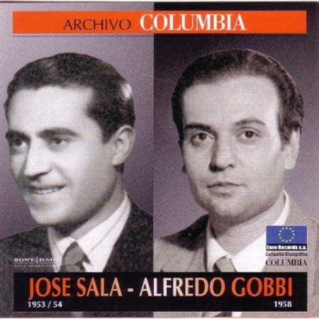 JOSE SALA & ALFREDO GOBBI CD Archivo Columbia 1953 - 1958