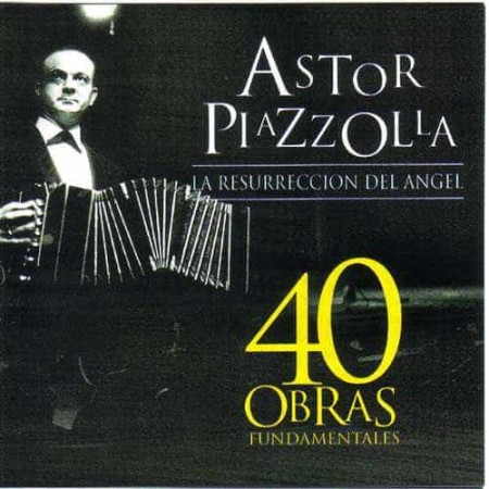 ASTOR PIAZZOLLA CD 40 Obras Fundamentales