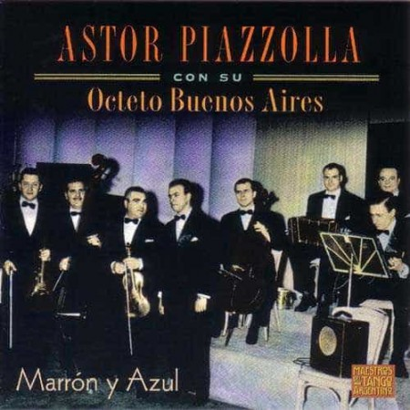 ASTOR PIAZZOLLA CD Marron Y Azul