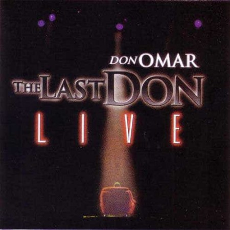 DON OMAR CD The Last Don Live 2CD