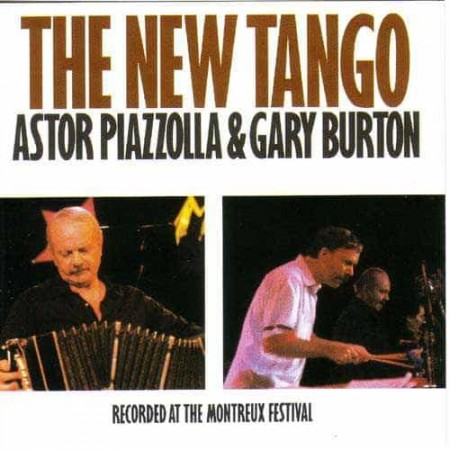 ASTOR PIAZZOLLA & GARY BURTON CD The New Tango