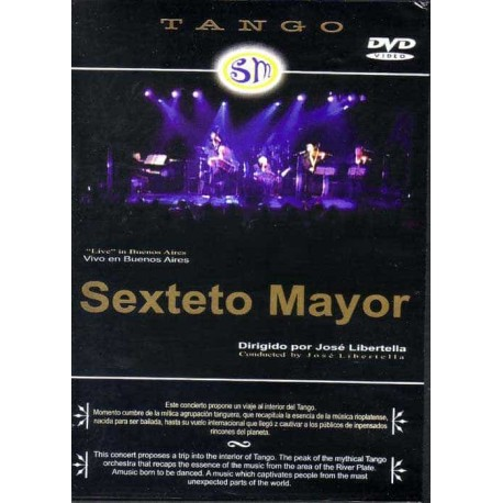 SEXTETO MAYOR DVD Live In Buenos Aires