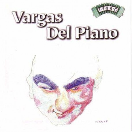 ANGEL VARGAS & EDUARDO DEL PIANO CD Tango