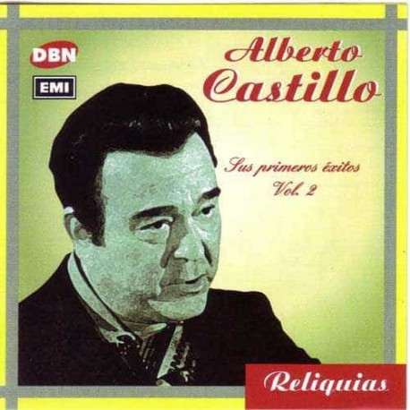 ALBERTO CASTILLO CD Sus Primeros Exitos Vol 2
