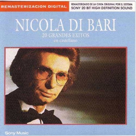 NICOLA DI BARI CD 20 Grandes Exitos En Castellano Best Of