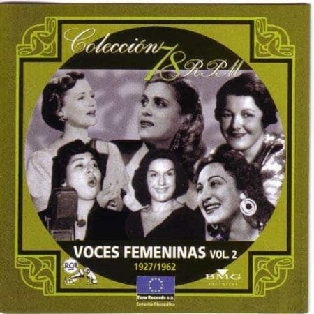 VOCES FEMENINAS Vol 2 Coleccion 78 RPM