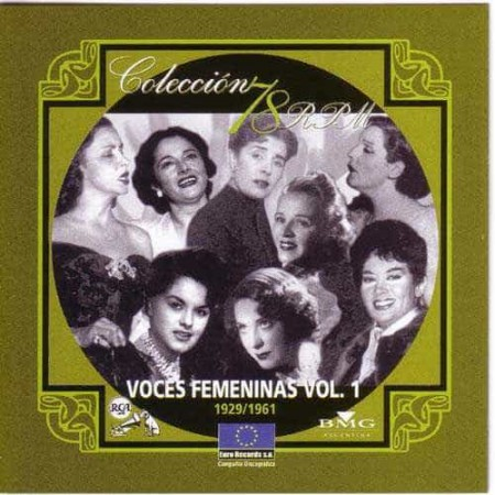 VOCES FEMENINAS Vol 1 Coleccion 78 RPM