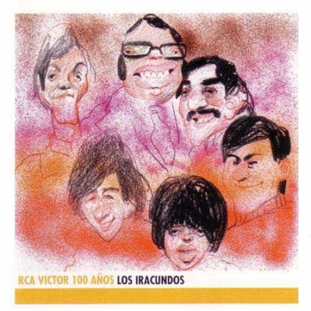 LOS IRACUNDOS CD Rca Victor 100 Años Best Of