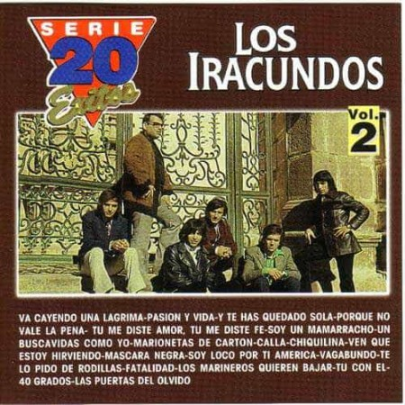 LOS IRACUNDOS CD Serie 20 Exitos Vol 2 Best Of