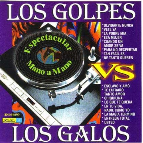 LOS GOLPES VS LOS GALOS CD Espectacular Mano A Mano