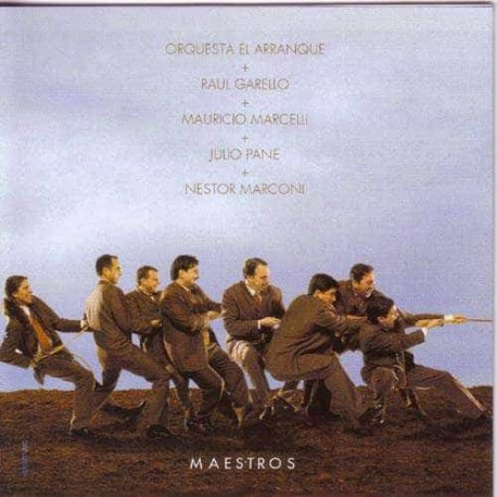 ORQUESTA EL ARRANQUE CD Maestros