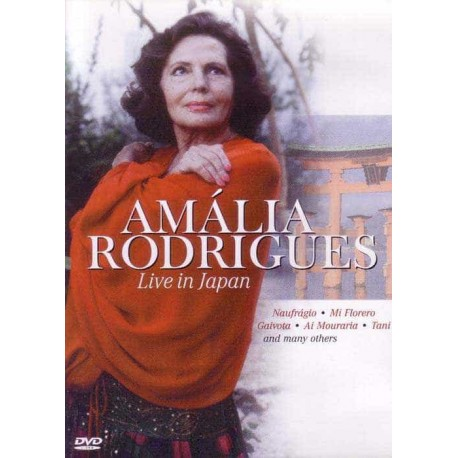 AMALIA RODRIGUES DVD Live In Japan