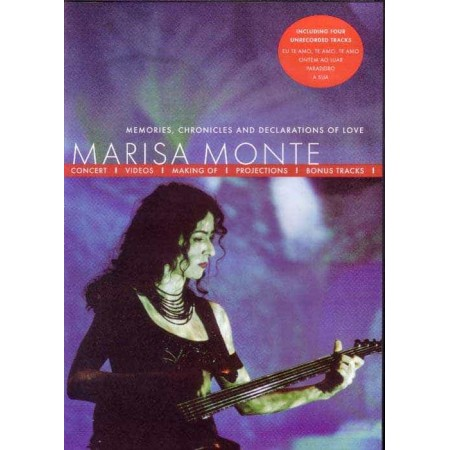 MARISA MONTE DVD Memories, Chronicles And Declarations Of Love
