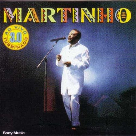 MARTINHO DA VILA CD 3.0 Turbinado Ao Vivo