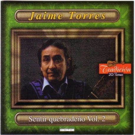 JAIME TORRES CD Sentir Quebradeño Vol 2