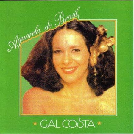 GAL COSTA CD Aquarela Tropical