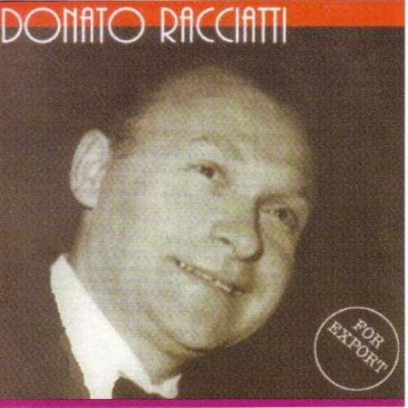 DONATO RACCIATTI CD For Export
